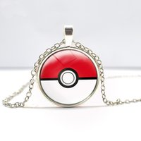 Cheap pokeball necklace Best Time Gemstone Necklace