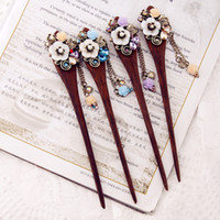ancient pin - National Wind Tassel Classical Hairpins The Wind Restoring Ancient Ways Go Female Jewelry Original Hair Clasp Hair Hair Pin