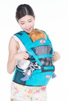 Wholesale Factory Baby carriers Baby sling Baby hip seat of cotton frontpack backpack hipseat comfortable safe baby