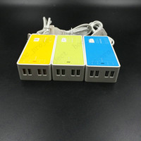 adapter distributor - Universal Mini USB Ports Charger Adapter US Plug Power Distributor Strip with Retail Package for Smart Phones and Laptop