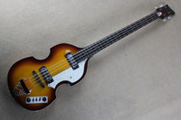 Wholesale String bass guitar sunburst color basswood body accept custom electric bass guitar