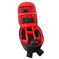 Wholesale High quality Tigernu Red Waterproof multi functional Digital DSLR Camera Video Bag Small SLR Camera Bag for Photographer