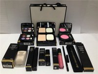 Wholesale Channel High Quality Eye Shadow Eyeliner Mascara Lipstick Lip Gloss Blush Foundation Pieces makeup set