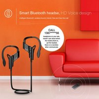 Wholesale Original V4 Bluetooth Headset Stereo Wireless Sport Earphone with Mic Handfree Headphone for Iphone plus s Smart Phone