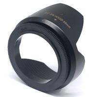 Wholesale Mcoplus Flower Shape Lens Hood Screw Mount DC SN mm for Canon Camera