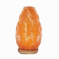 Wholesale Himalayan Natural Crystal Salt Lamp Natural Ar Purifier Night Light Natural Home Decor Yoga Lamp Atmosphere Home Decorative Lamp