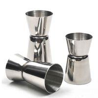 Wholesale Hot Sale Size Cocktail Wine Short Measure Cup Jigger Single Double Shot Measuring Cup Drink Bar Party Supplies Accessories
