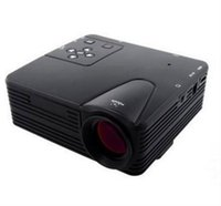 Wholesale H80 LED Projector Full HD P LCD Projector Multimedia Home Theater LCD Game AV VGA SD USB HDMI Interface