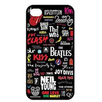 beatles apple logo - The Beatles Bob Marley G N R Michael Jackson Logo fashion cell phone case for iphone s s c s plus