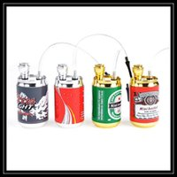 filter pop - 2016 Creative Design Pop Can Mini Hookah Metal Smoking Pipes Aluminum Alloy Metal Filter Hookah Bongs For Smoking Device DHL Free