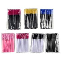 Wholesale Disposable Eyelash brushes Mascara Applicator Wand Brush makeup brush One off Eyelash Extension brushes
