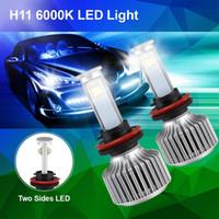 achat en gros de projecteur ampoule h7-40W X7 H7 Kit d'ampoule / H8 / H9 / H11 LED Phare 6000k 3600LM véhicules de Salut / Lo Poutre Super Bright Headlamp Cree