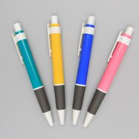 Wholesale Custom Logo Pen Advertising Clip Plactic Ballpoint Pens Cheap Promotional Gifts with Office Company Logos Wholese