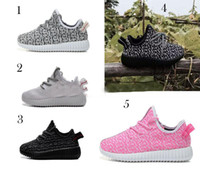 baby cows sale - 5 Color new hot sale kids West Boost sneakers baby Boots Shoes Running Sports Shoes booties toddler shoes cheap Sneakers Training