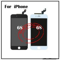 Wholesale Black White LCD Display Touch Digitizer Screen Full Assembly Replacement for iPhone S S Plus With D Touch DHL