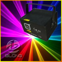 Wholesale CR RGB mw Animation Laser Light projector Stage Lighting Laser Light Show DJ Party Stage Light Disco Bar Full Color Lights