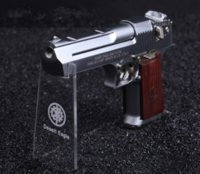 Wholesale full metal removable disposable wood shell Desert Eagle pistol simulation Shaheen model can not launch