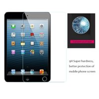 anti fingerprint ipad - 200pcs For Ipad Mini Explosion Proof Anti Fingerprint Premium Tempered Glass Screen Protective Film With Retail Package