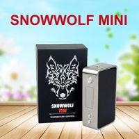 Wholesale Sigelei Snowwolf Mini w Temperature Control mod Snowwolf w Snow wolf TC Box Mod TARGET W Reuleaux RX200