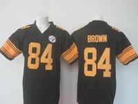 Wholesale Steelers Brown Rush Jerseys Brand Jerseys All Teams Broncos Jerseys Cowboy Jerseys Eagles Jersey American Jerseys