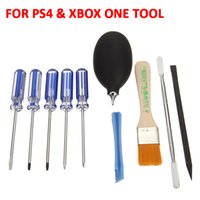 Wholesale 10 in Repair Tool Kit Precious Set Kit Tools Screwdriver Set with Case for PS1 PS2 PS3 PS4 and Smartphones