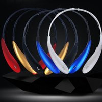 Wholesale 200pcs HBS800 Bluetooth Wireless Headset Neckband Sports Stereo Headphone HBS Bluetooth Tone Ultra hbs Also sell hbs760 hbs850