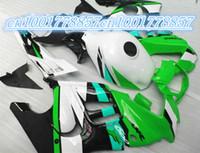 aftermarket body parts - Aftermarket body parts fairing for green red white black CBR600 F3 fairings kit CBR600 F3