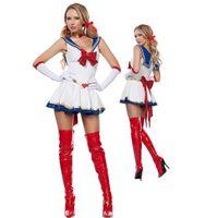 Wholesale Halloween sexy costume sailor moon cartoon costume for cosplay anime game uniform dresses