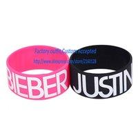bieber fever - Justin Bieber Wristband Bracelet for Fans with Bieber Fever Beliebers Too Baby MM Width