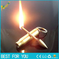 belt oil - Bullet oil lighter Cotton million matches with a key chain portable belt metal lighter for smoking