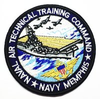airs technical - naval air technical training command patches embroidered navy memphis tactical patch military morale armband combat badge