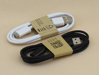 Wholesale Data Sync Charging Cord M FT line USB ECB DU4AWE Cable For Samsung GALAXY S4 i9500 Note7 s6 note4 Android Phone V8 Charger Wire