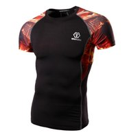 tights for men - 2016 new short sleeves quick dry tights for men quick dry cycling tops for