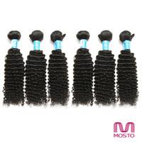 9pcs cheveux brésiliens cheveux naturels cheveux naturels cheveux Kinky bouclés peruvian malaisien Cheveux extensions indiennes MOSTO CHEVEUX FACTORY