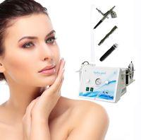 Wholesale 2017 NEW skin clean machine in Oxygen jet water hydro dermabrasion diamond skin peeling hydra facial machine