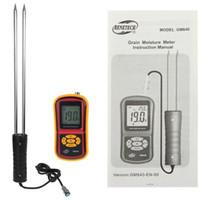 Wholesale GM640 Moisture limit value setting Grain Moisture Meter for measuring the moisture content range moisture temperature oC oC