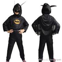 batman catsuit - batman cospaly set Cosplay costume Batman costume for kid Superman costume Spiderman Hero clothes costume H38