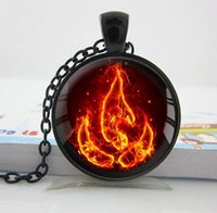 ancient south american art - 2016 European style of new heavy state Airbender fire have hang pictures of art glass dome to restore ancient ways jewelry necklace girl