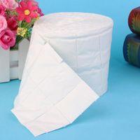 Wholesale 500Pcs Roll Cotten Wipes Pads Paper Nail Art Soak Off Gel Wraps Gel Polish Remover Cleaner Tool QJ