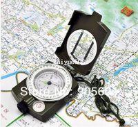 american navigator - Multifunctional Lens Digital Geological American Compass Marine Outdoor Marching Camping Military Sports Navigator Equipment