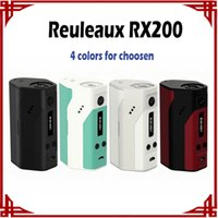 Wholesale sp Authentic Wismec Reuleaux RX200 TC Mod Powered By Joyetech Chip Wismec RX200 mod vs Reuleaux RX75 RX200S