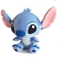 Cheap 1pc 12.5inches 32cm giant lilo and stitch plush toy Cartoon Stuffed Animals anime soft toy doll stitch plush pillow baby toy