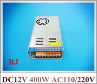 Wholesale DC12V W LED switching power supply LED switch power transformer driver input AC110V AC220V output DC12V W A CE ROHS
