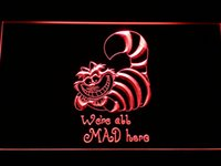 alice office - g200 The Cheshire Cat Alice in Wonderland Neon Sign Bar Beer Decor Dropshipping colors to choose