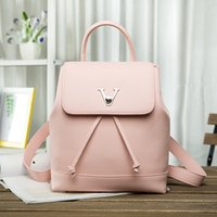 backpack factory - 2016 new European and American fashion big women s first layer of cowhide lychee pattern shoulder bag factory direct Style M41817