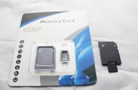 Wholesale GB GB Micro SD Card Class SDHC card TF Memory Cards with Free SD Adapter Packaging Free DHL