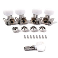 banjo tuning machines - Quality Die cast Set Banjo Machine Head Tuner Tuning Peg Key with Bushings Banjo Parts Accessories
