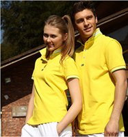 Wholesale milvian the new men and women s T shirt waterproof brethable cotton turnover collar camping T shirt