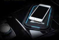 amg car mats - Car interior accessories Non slip mat navigation pad Cell phone pad Car styling AMG logo for Mercedes Benz GLK GLA CLA C class