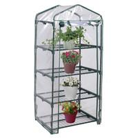 Wholesale 4 Shelves Green house Portable Mini Outdoor Green House Brand New Garden